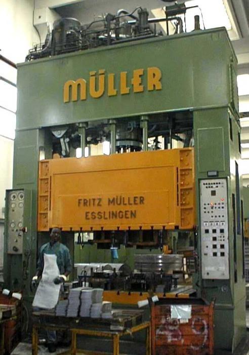 400 t MULLER Modello ZE 400-27.1.1